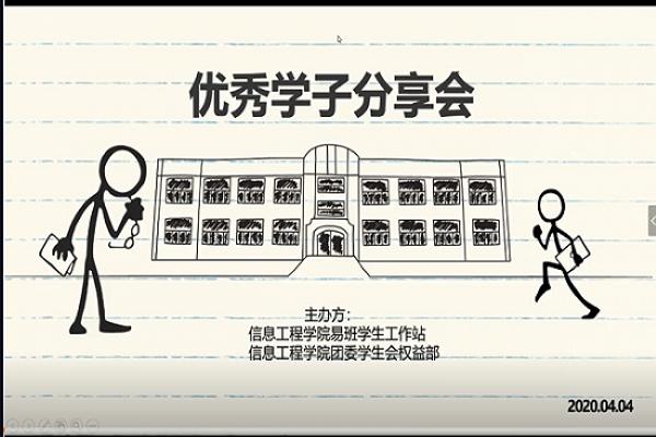 传递优秀经验 助力青年成才――武汉理工大学信息学院优秀学子分享会顺利举行