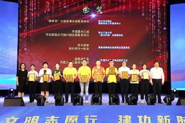 管理学院项目在第五届湖北省志愿服务项目大赛中荣获金奖