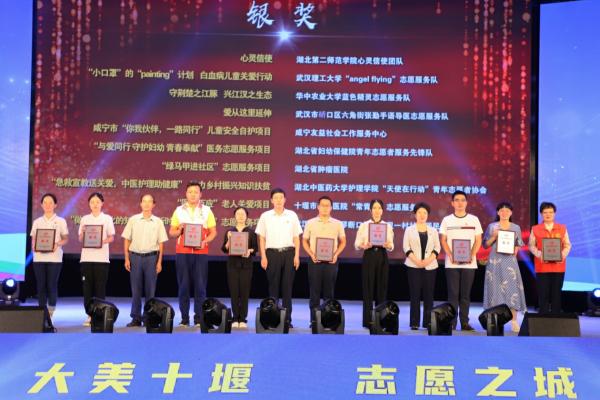 艺术与设计学院志愿服务项目荣获湖北省志愿服务项目大赛银奖