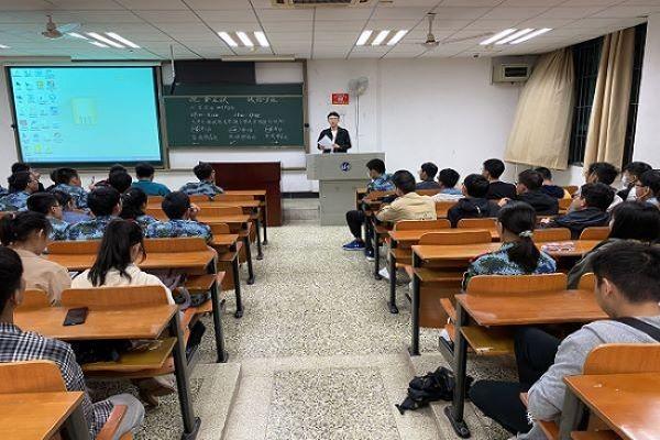 材料学院顺利举行2020年第一次理工易班新生宣讲会
