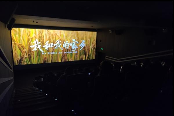 学工部党支部与共建支部观看电影《我和我的家乡》