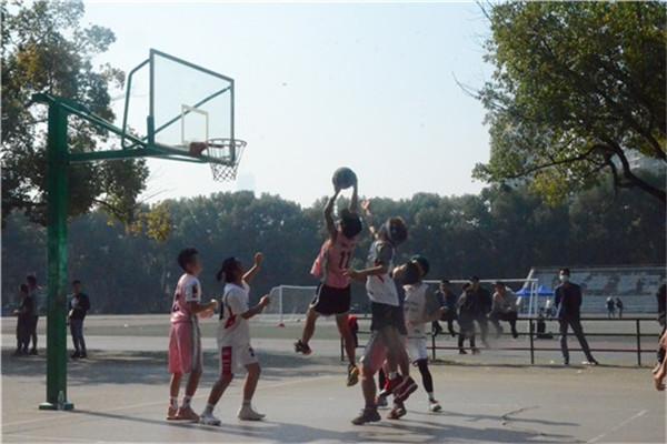 能动学院轮机专业18级篮球赛决赛