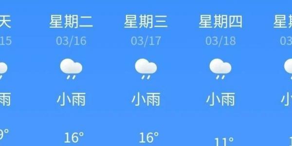 未来一周都是阴雨天,你准备好了吗?