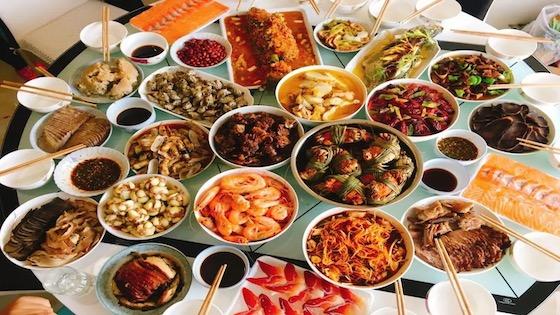 微信:年夜饭特辑 一年一度新春日,每家每户团圆时
