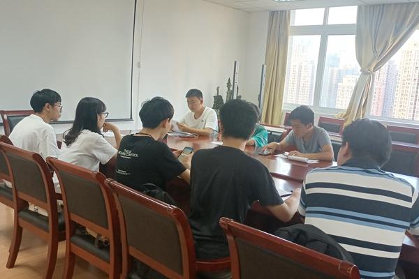 信息易班第一次干部会议顺利召开